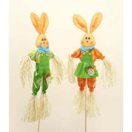 Zajíc na tyčce - zajíc