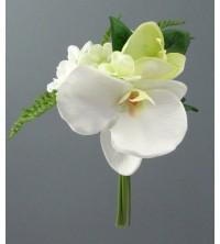 Orchidej s hortenzií kytička