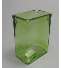 Svícen/vázička skleněná