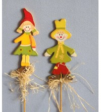 """Dítě """"podzim"""" na tyčce"""