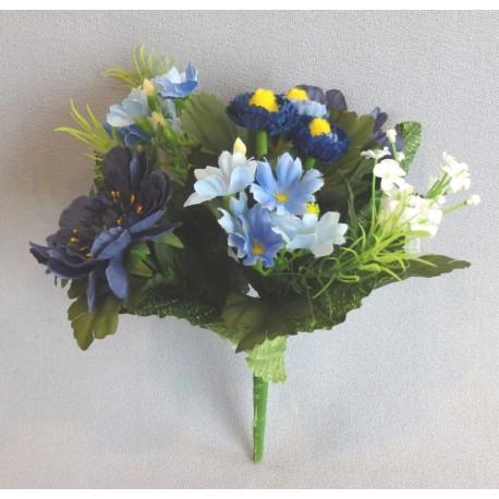 Kytička modrých květů
