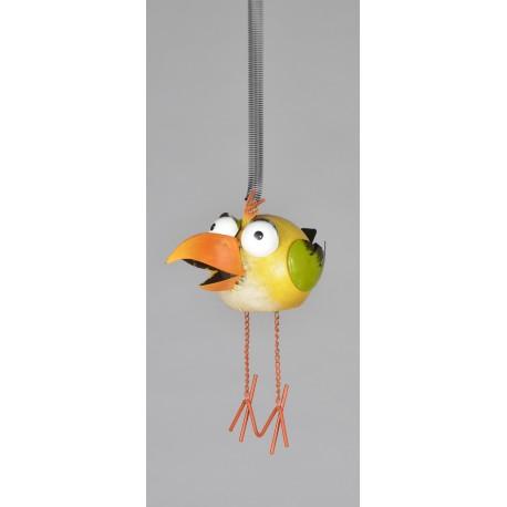Pták plechový