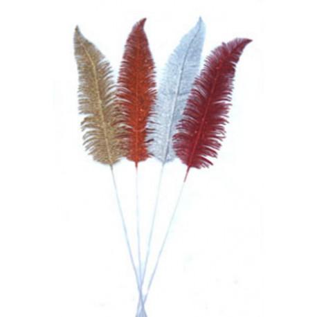 Větvička kapradí  - b.červená