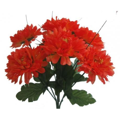 Chryzantéma kytice  - oranžová
