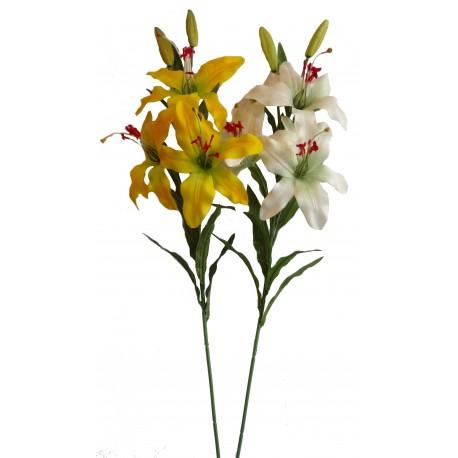 Lilie x3  - žlutá