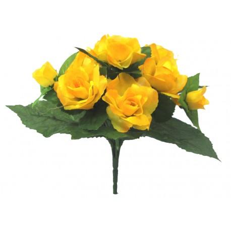 Růže kytice  - žlutá