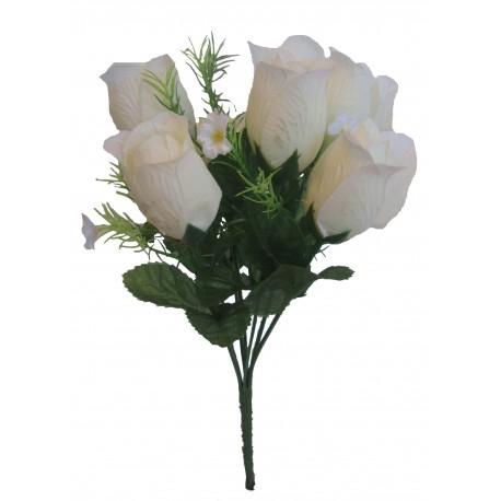 Růže kytice  - bílá