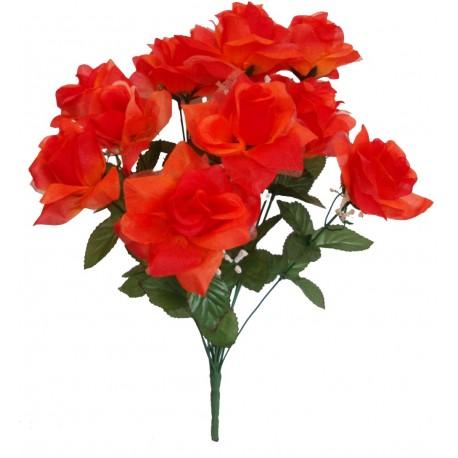 Růže kytice  - oranžová