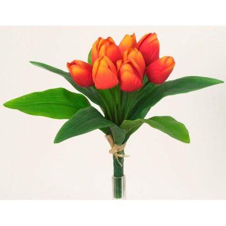 Tulipán svazek  - oranžová