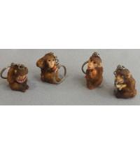 Opička - klíčenka
