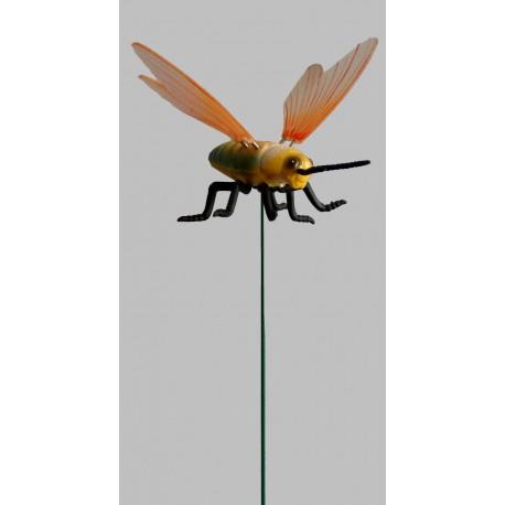 Včela  zeleno-žlutá