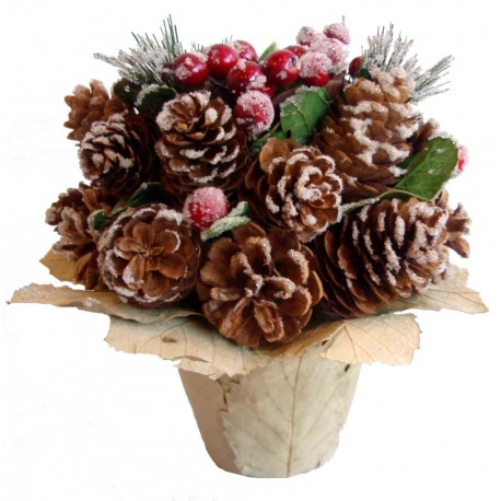 Květináč vánoční