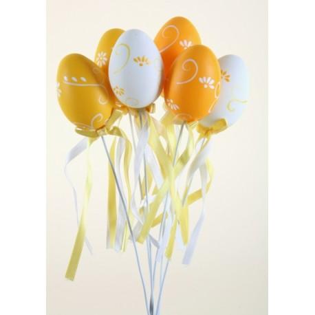 Vajíčko plast  - bílé