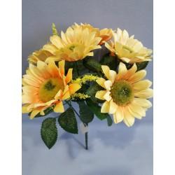 Slunečnice kytička, 2 odstíny žluté