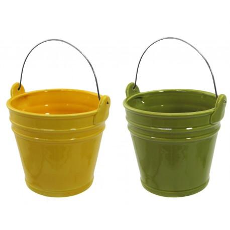 Kbelíček - b.zelená